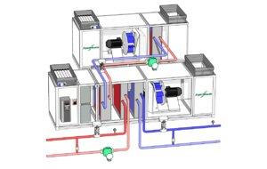 air handling unit 3D