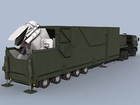 3D peresvet russian self-propelled