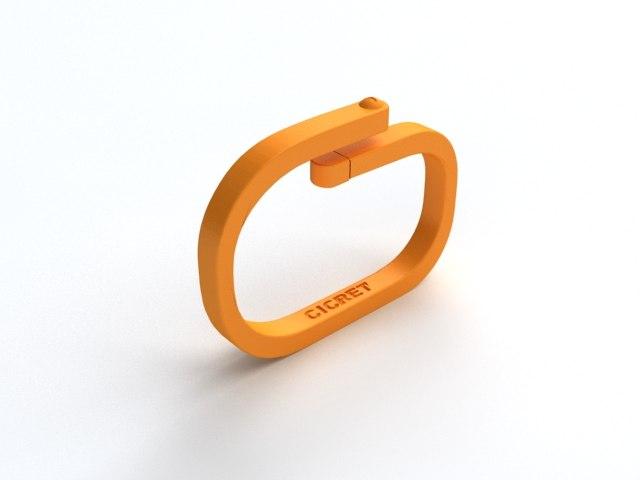 cercet bracelet 3D model