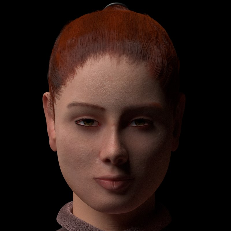 female character model