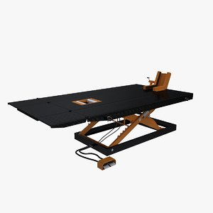 motorcycle lift table 3D model