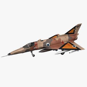 israel kfir jet model