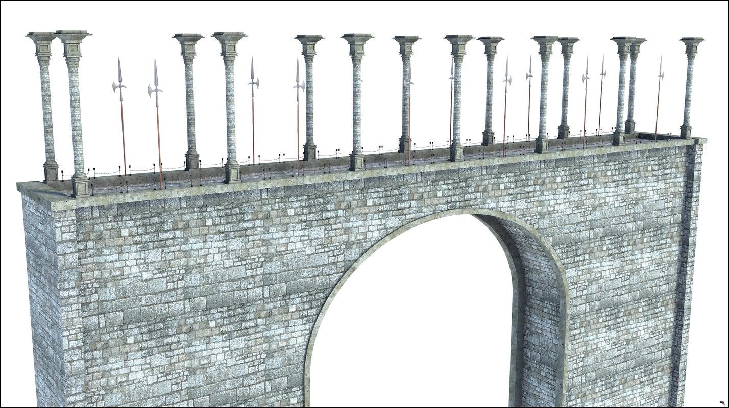 bridge structure 3D