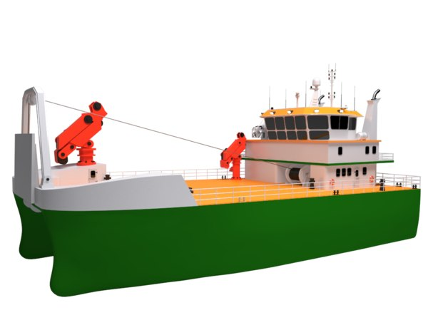 3D service vessel