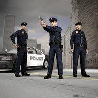 American Policeman Character of NY