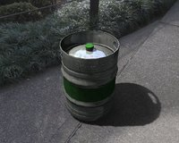 3D beer barrel