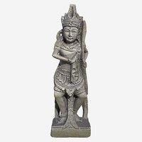 thai sandstone male warrior 3D model