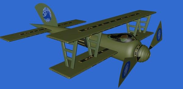planor 3D model