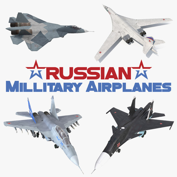 russian millitary airplanes air force model