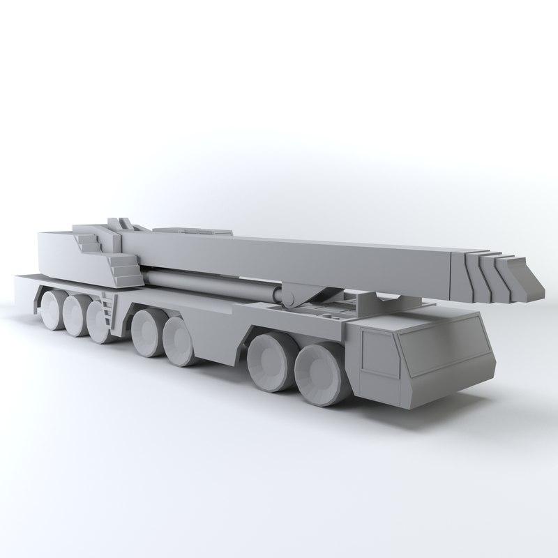 crane polys 3D model