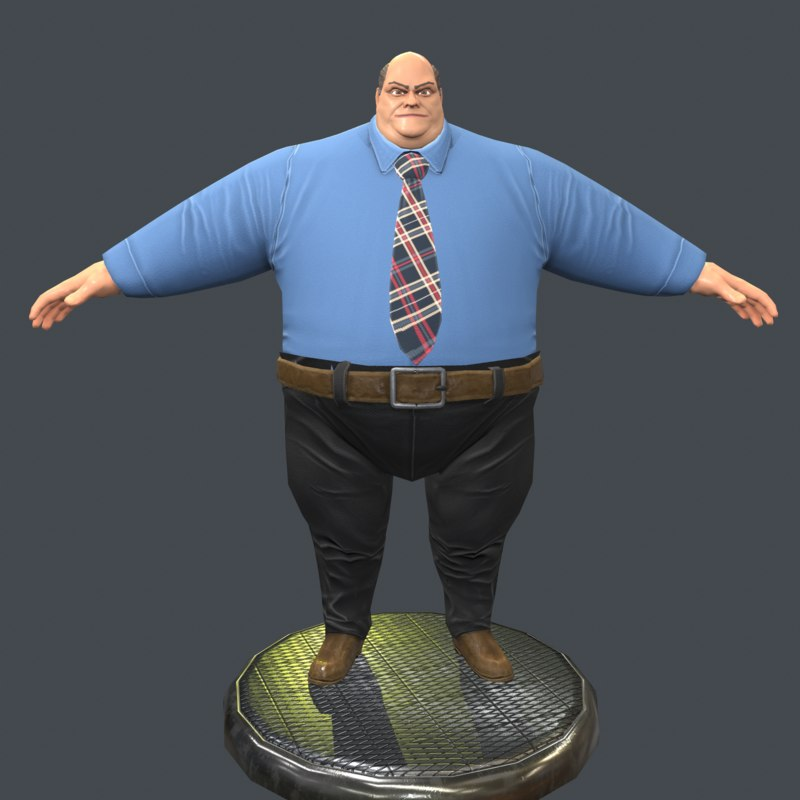 fat 3D