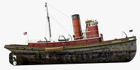 historical tug hercules 1907 model