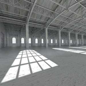 3D base industial interior