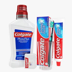 3D model oral hygiene