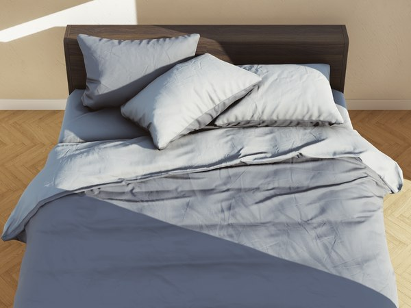 3D bed 03 model