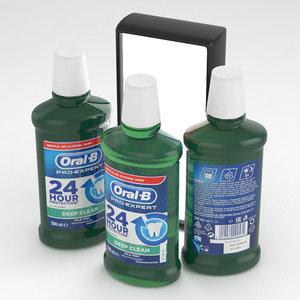 3D oral b oral-b model