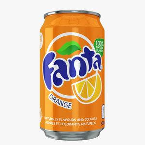 fanta drink model