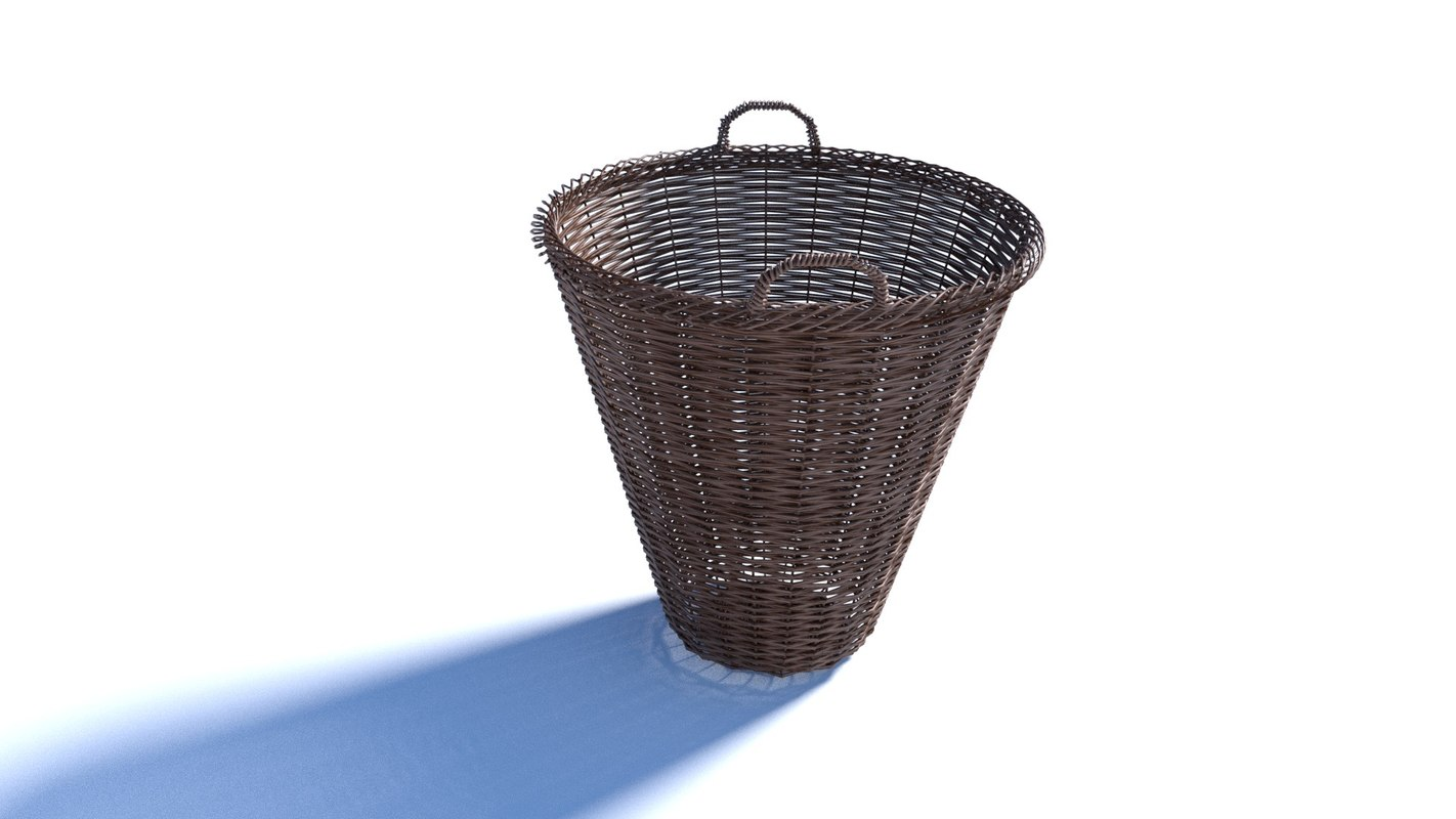 basket blender 3D model