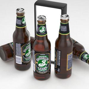 3D model beer lager