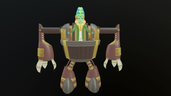 zeep xanflorp 3D model