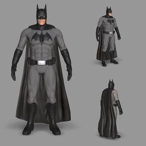 3D character cartoon man model