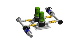 3D circulation pumps