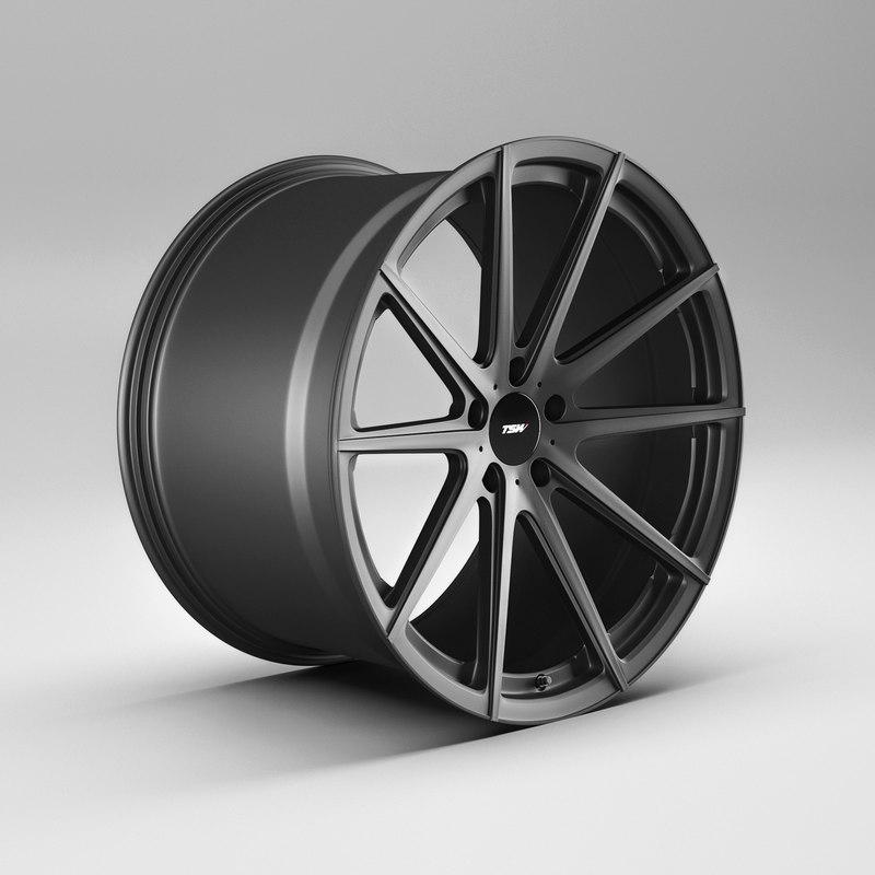 tsw bathurst rims 3D model