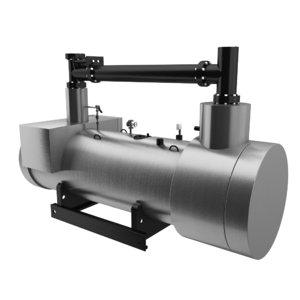 3D model industrial boiler