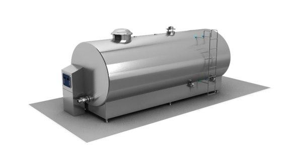 bulk fuel tank 3D model