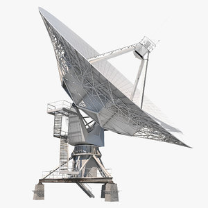 satellite dish 3D model