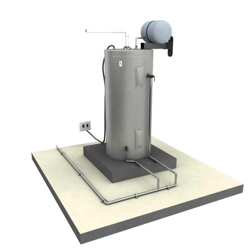 3D water heating