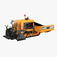 asphalt paver leeboy 5300 3D model