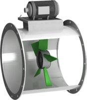 3D axial fan