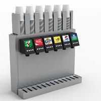 drinks dispenser 3D model