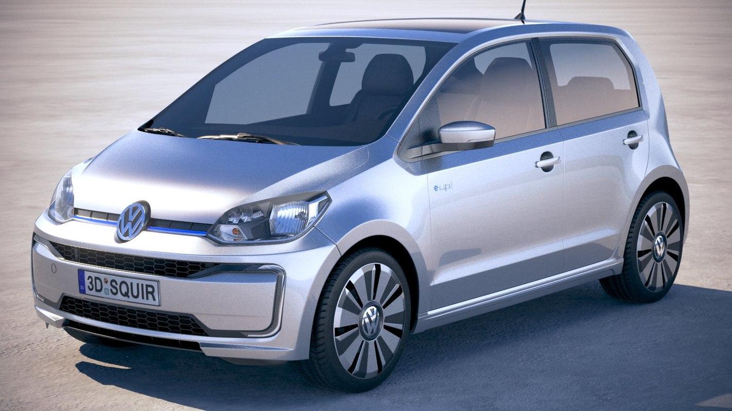 volkswagen e-up 2019 3D model