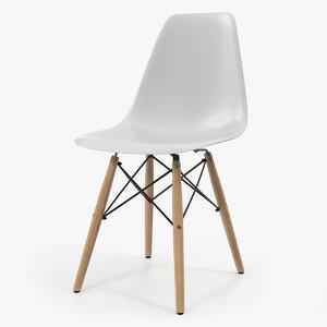3D eames style modern chair