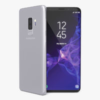 Samsung Galaxy S9 Plus Titanium Gray 3D Model