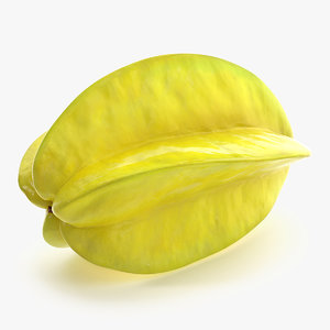 star fruit carambola 3D model