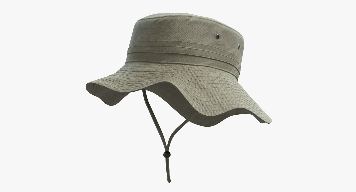 fishing hat model