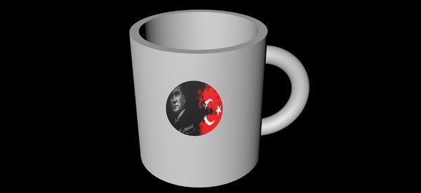 cup leader 3D model