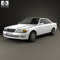 3D toyota chaser 1998 model