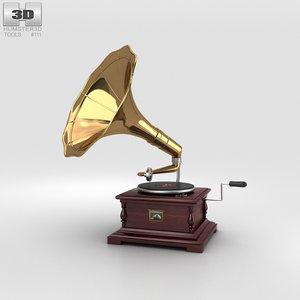 3D model master s voice