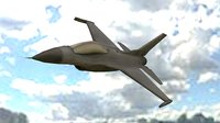 f-16 3D model