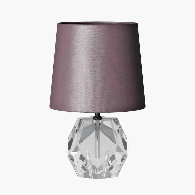 table lamp x31511dg g 3D model