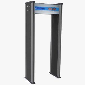airport metal detector 3D model