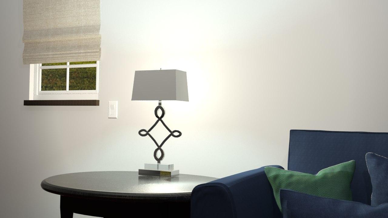 3D decorative lamp rst-2011
