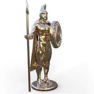 leonidas statue model