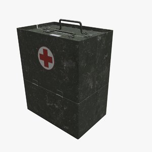 3D army medical box