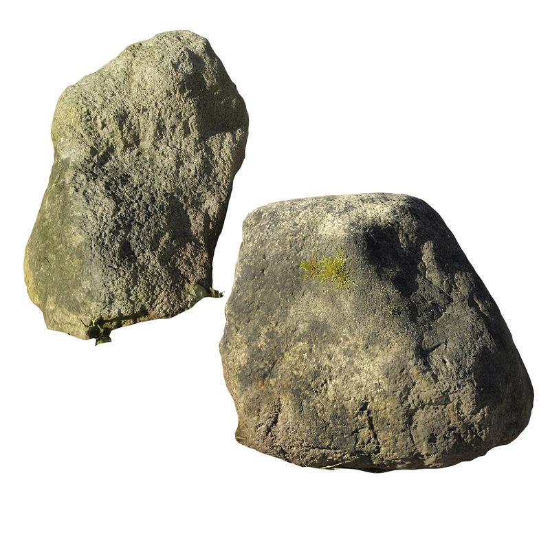 stone v-ray 3D model
