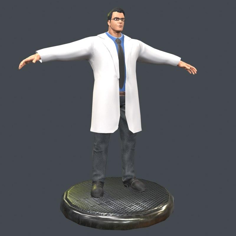 3D doctor model